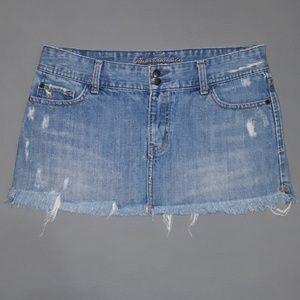 Abercrombie & Fitch Vintage Mini Jean Skirt Size 6